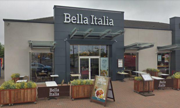 Bella Italia in Dunfermline. Picture: Google.