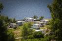 Campers at Loch Tummel