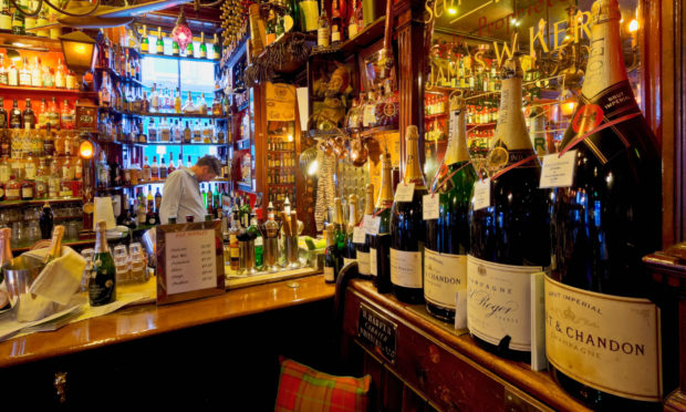 Bars and restaurants have been closed since March under lockdown restrictions.