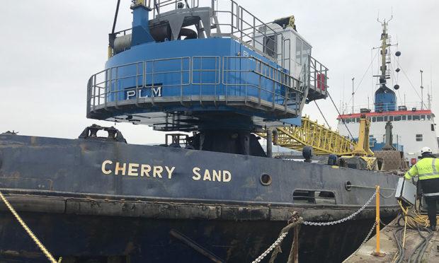 The dredger Cherry Sand