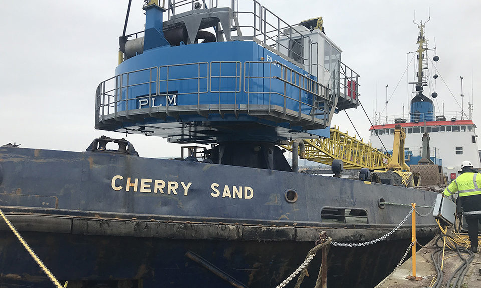 The dredger Cherry Sand