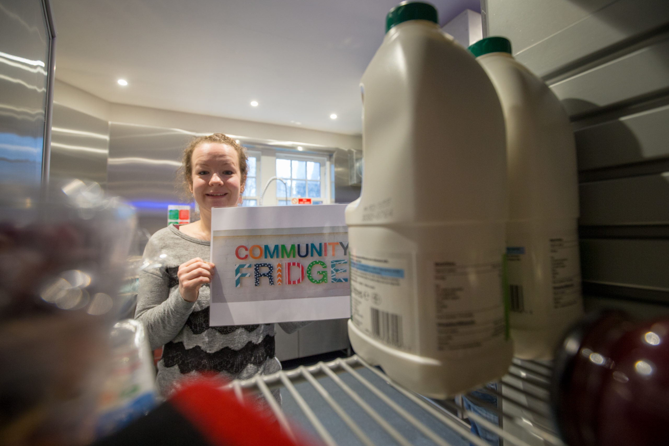 Lynsey Penny of the Gate Church Community Fridge Project.