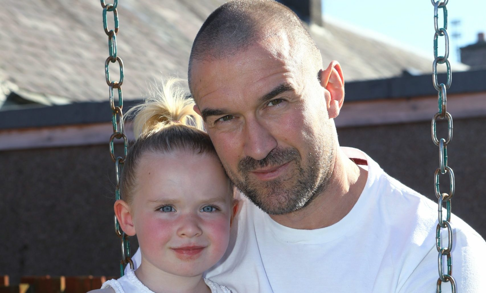 Alan McAllister, with daughter Caoimhe, 3, says nursery allocations have caused chaos for hundreds of families.