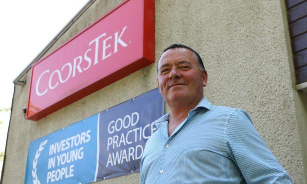 CoorsTek plant manager Mark Cameron.