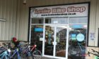 Leslie Bike Shop. Picture by Dougie Nicolson.