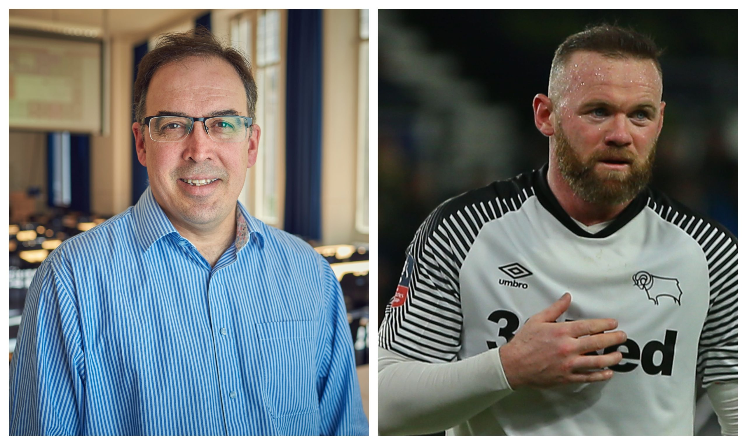 Prof David Lavallee says top sports stars could shun clubs who don't prioritise player welfare. Wayne Rooney, right, has also expressed concerns