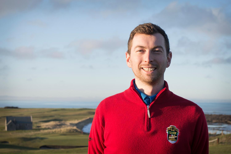 David Snodgrass, new head professional at The Crail Golfing Society.