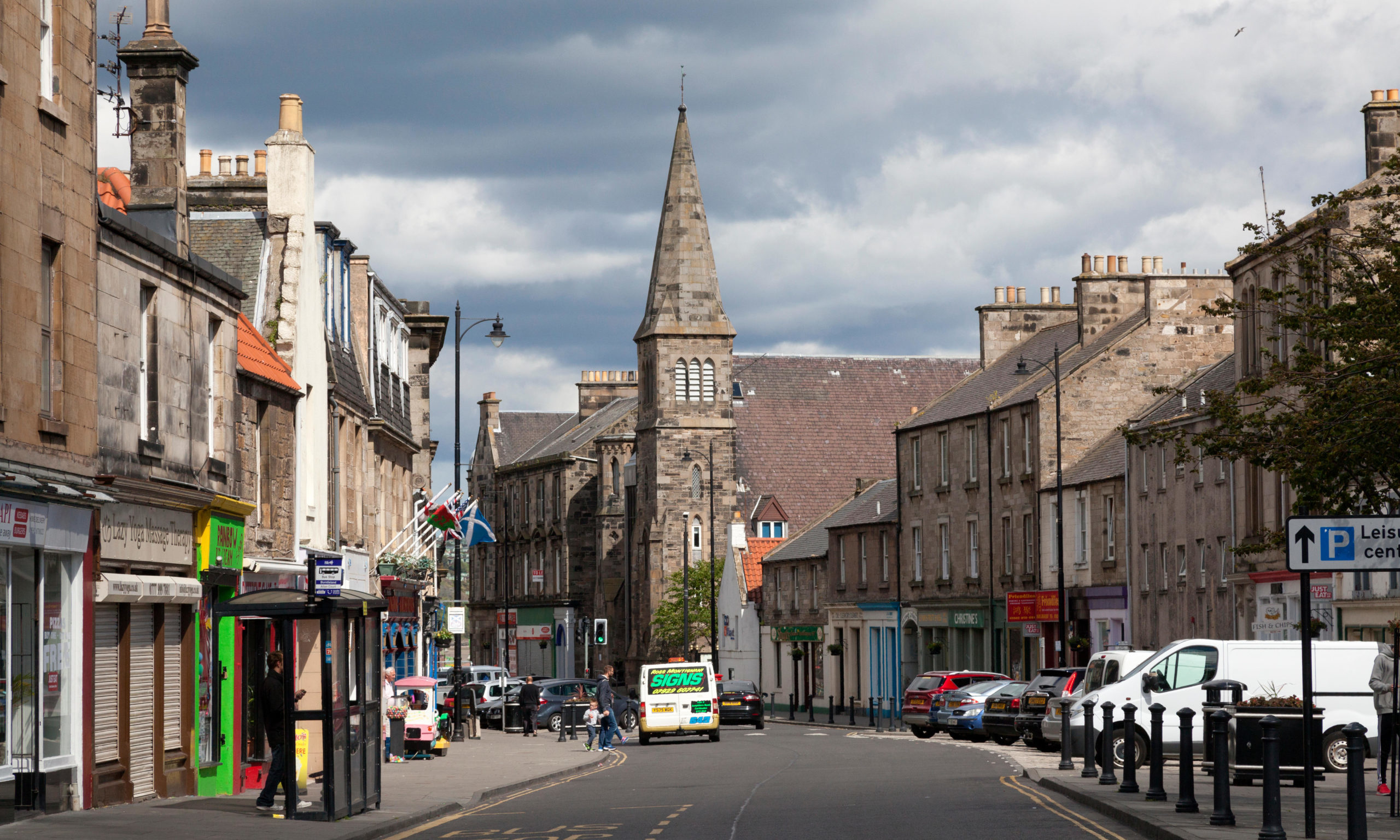 Burntisland High Street.