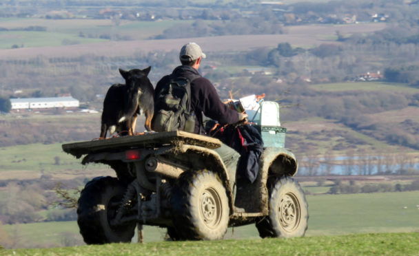Quad bikes and other farm vehicles are a regular target for criminals.