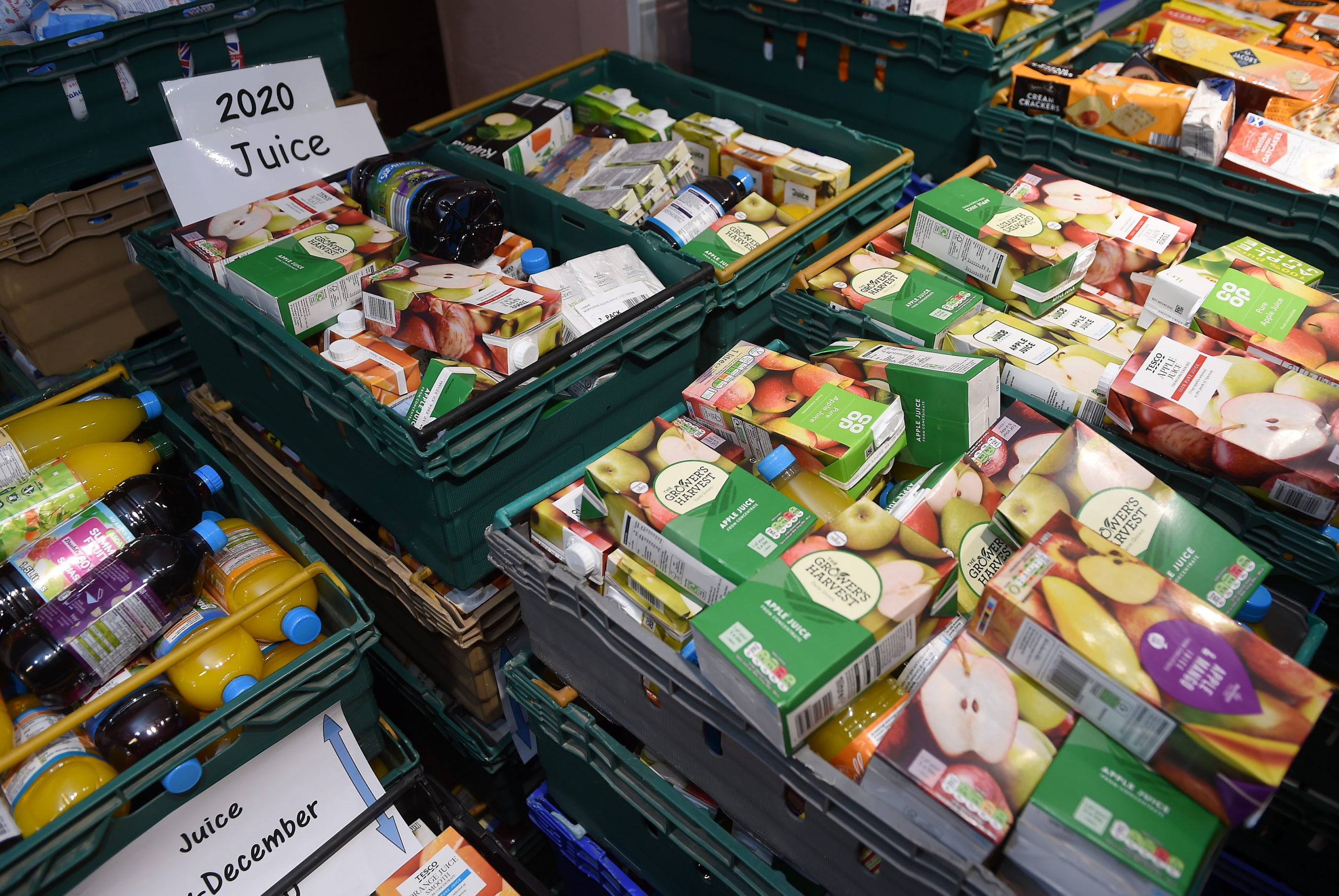 Perth and Kinross residents are being urged to continue donating to foodbanks.