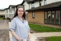 Amny Hood (20), has started her nursing career early, working at the Kingsway Care Centre in Dundee.