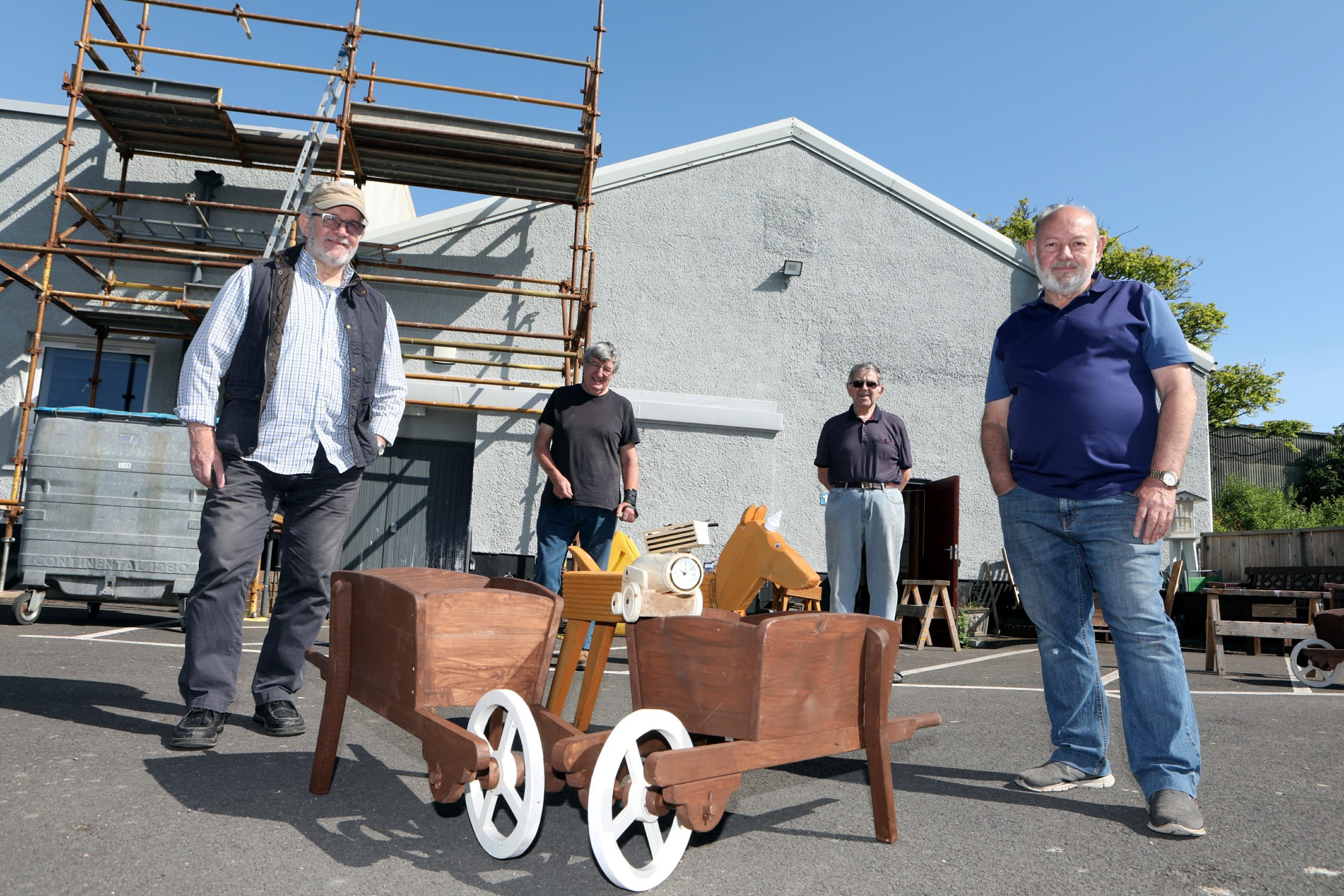 Arbroath Men's Shed secured a 25-year lease on their Dens Road premises.