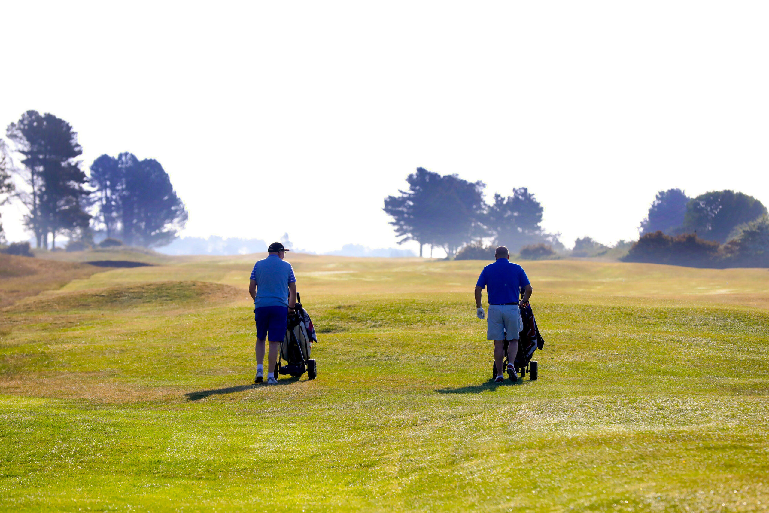 Golf was one of the first public activities to start after lockdown.