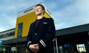 Pilor Greg Poulter Jones has started working at Amazon in Dunfermline.