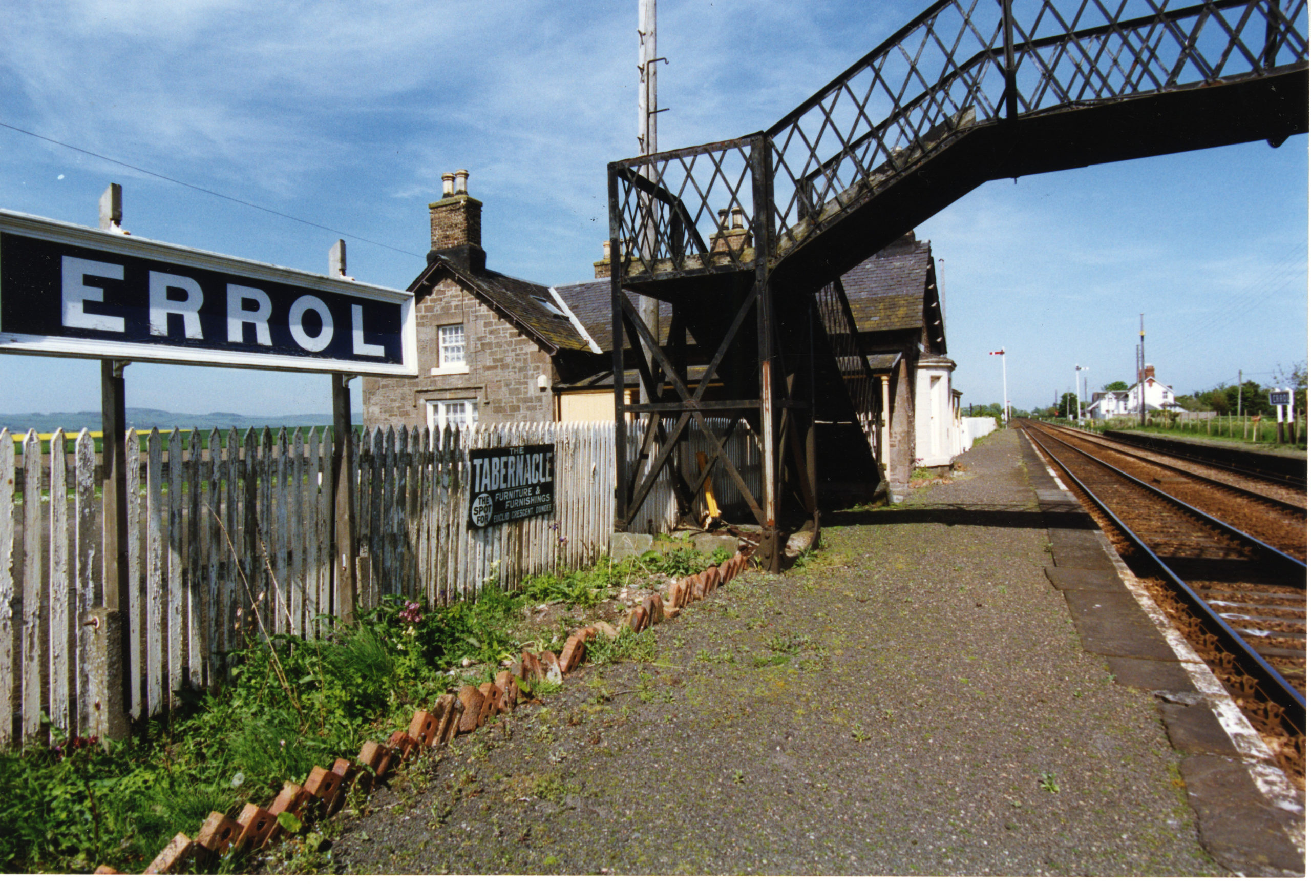 Errol Station view.