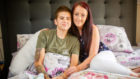 Kirsty Maxwell and her fiancee Nadia Huggan are planning Kirsty's funeral after she was diagnosed with a rare cancer and was given only months to live.