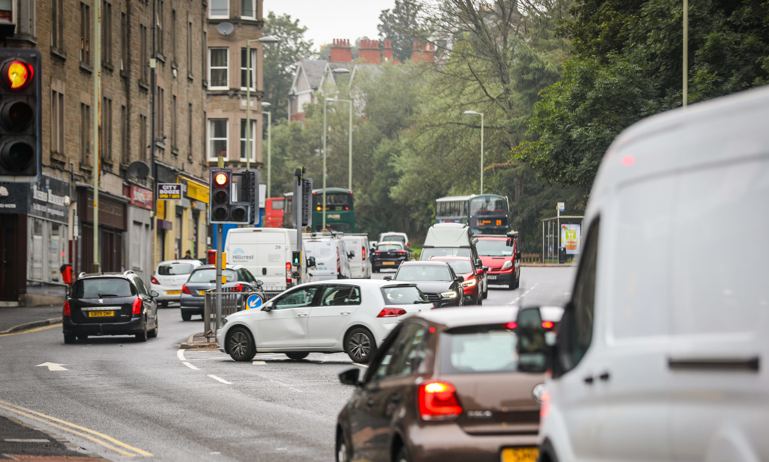 Campaigners believe low emission zone plans should extend to Lochee Road.