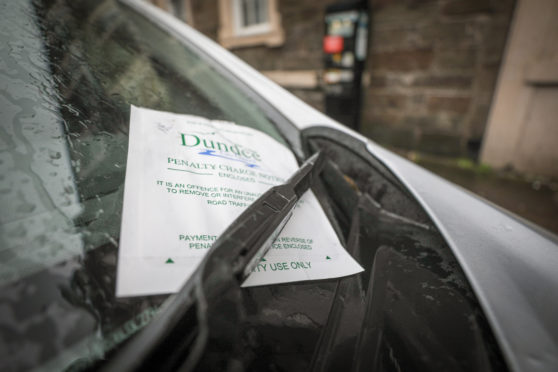 Illegal or inconsiderate parking in Dundee is to be targeted during lockdown.