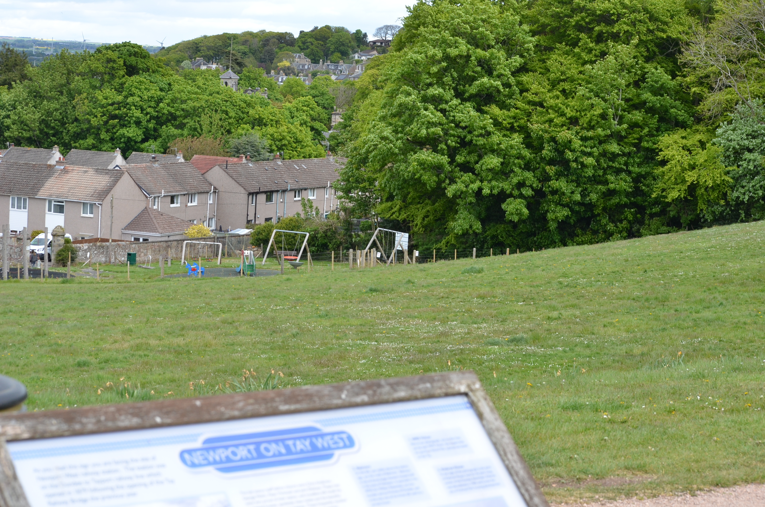 Kinbrae Park in Newport.