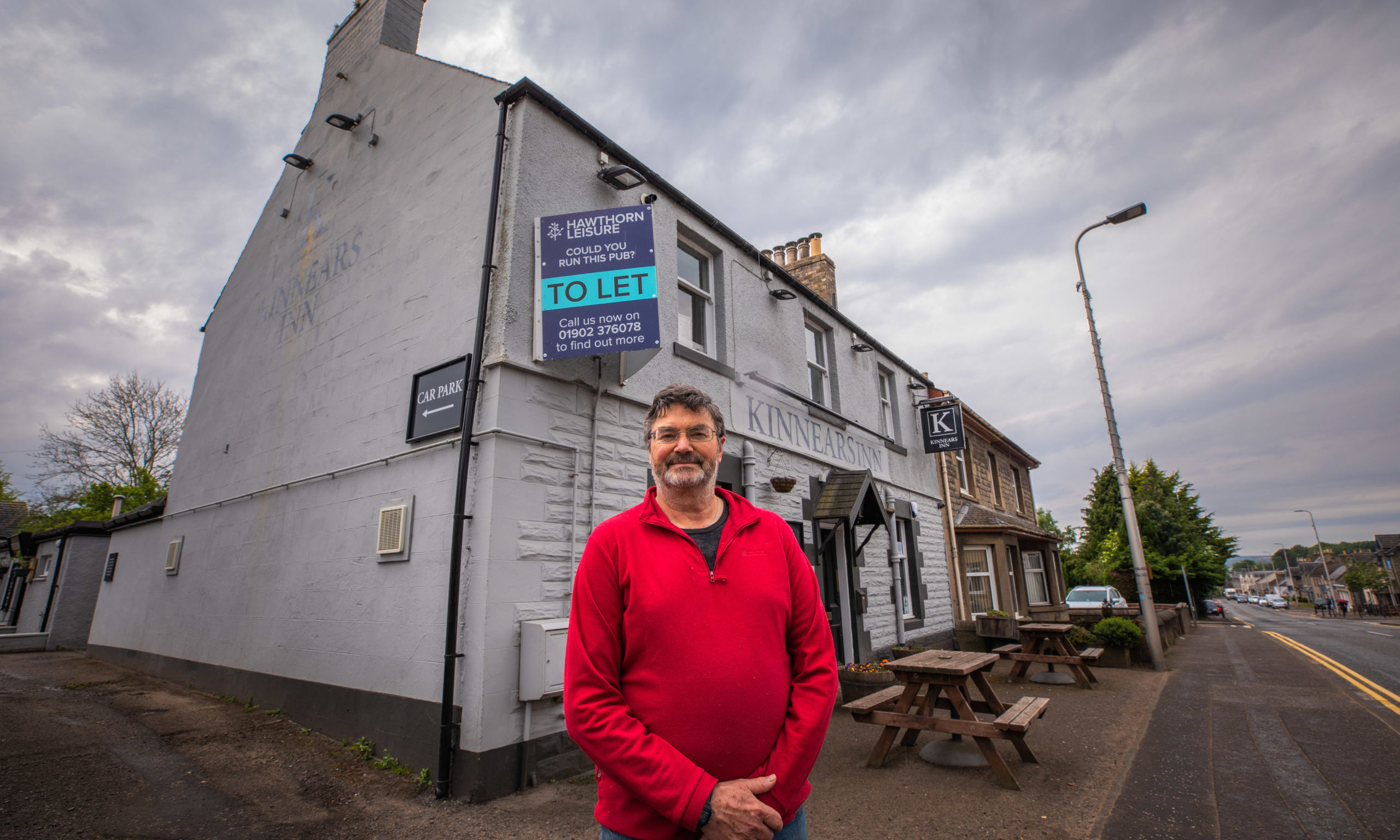 David Reekie has been forced to all time on his lease of the Kinnears Inn, Scone.