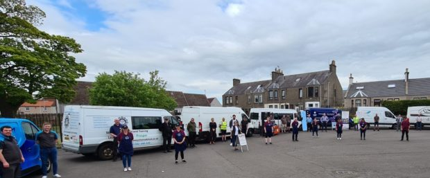A real community effort in Levenmouth.