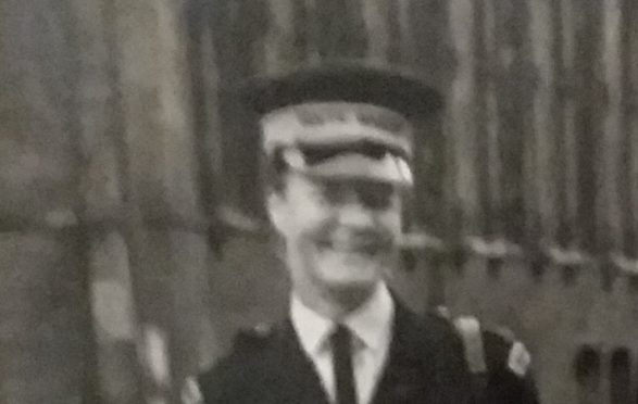 Lily Hogg (left) was one of Tayside's original traffic wardens.