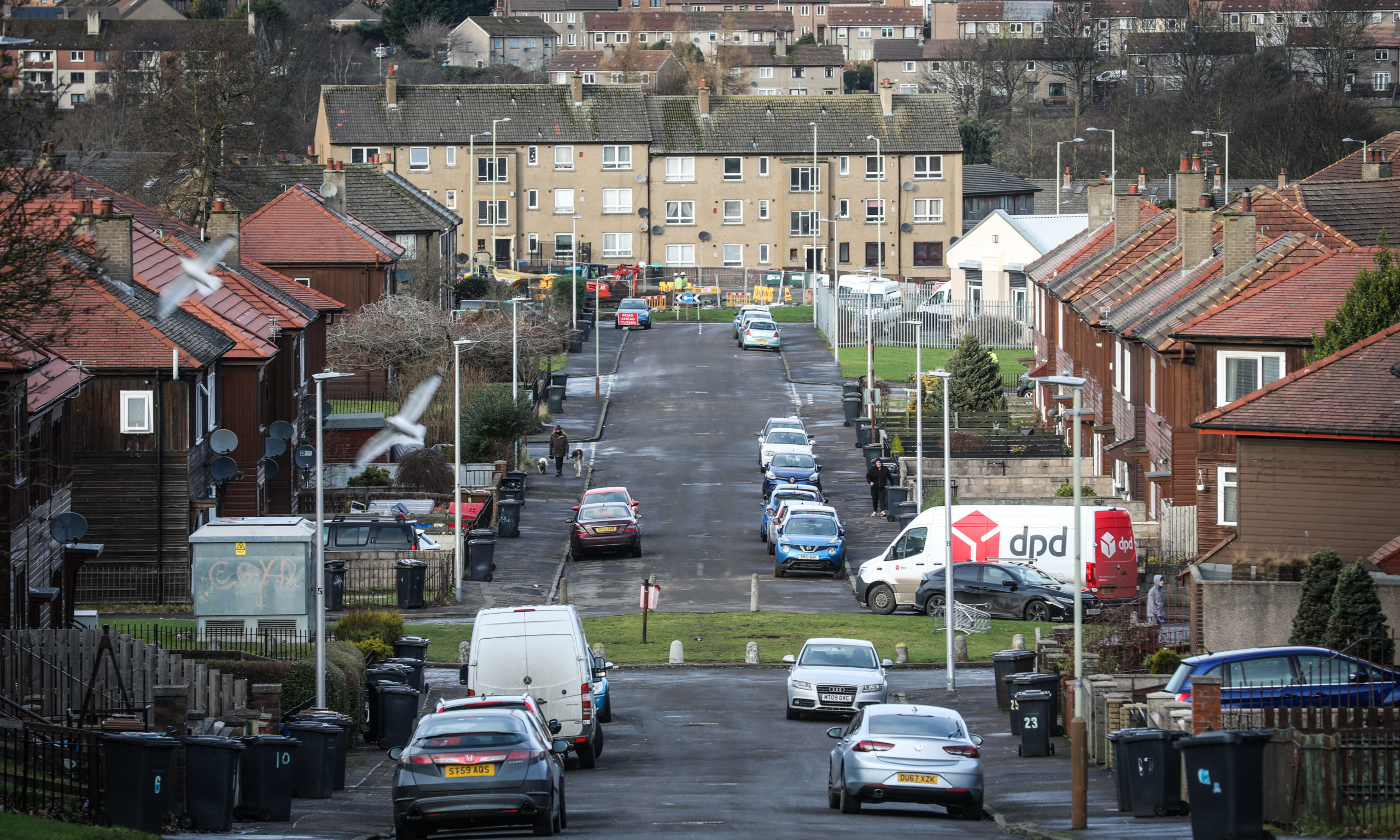 Linlathen in Dundee is one of the most deprived places to live in the UK.
