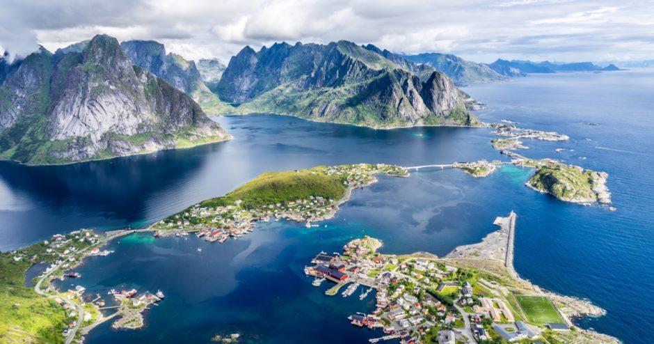 Lofoten Islands, Norway.