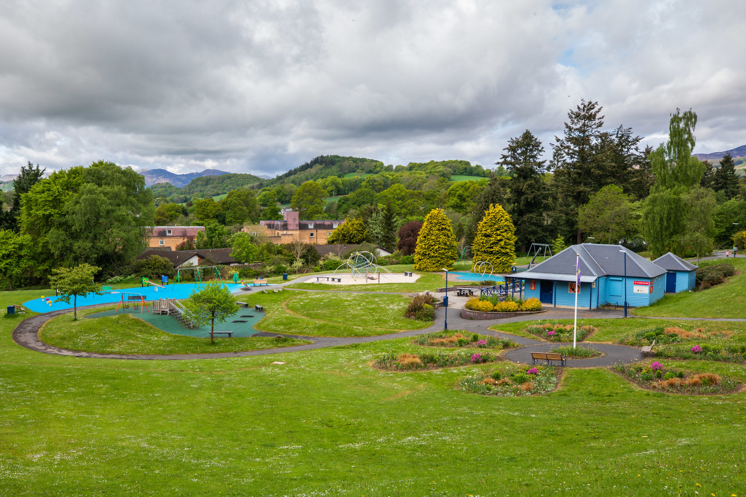 Macrosty Park in Crieff