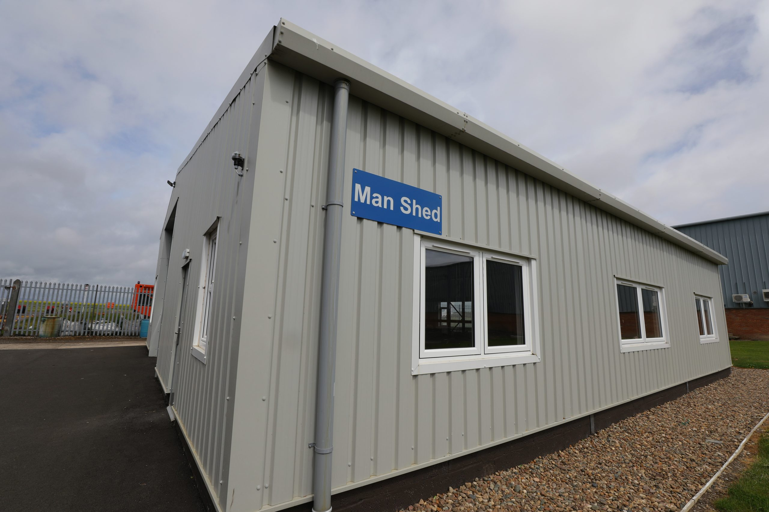 The Scone Airport Men's Shed.
