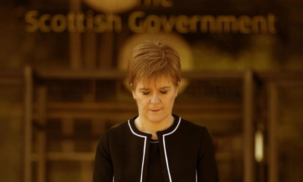 To go with story by Mark Asquith. Image Illustration to go with politics explainers Picture shows; Nicola Sturgeon. Scotland. Courtesy PA Date; Unknown