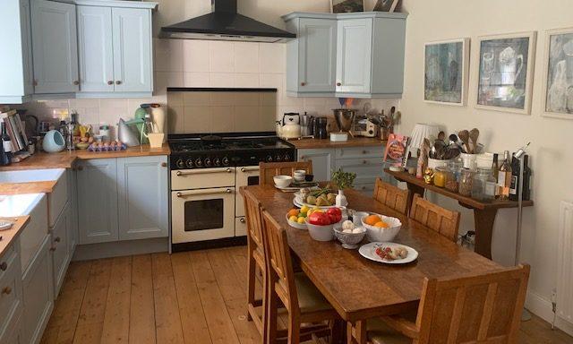 Murrays own kitchen.