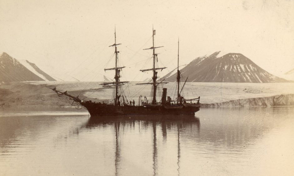 The 140ft barque-rigged steam whaler Nova Zembla took its final voyage in 1902