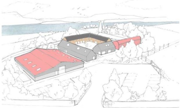 Plans have been lodged to convert Orwell Farm into a business hub.