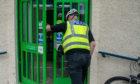 Police at PKAVS Care Centre