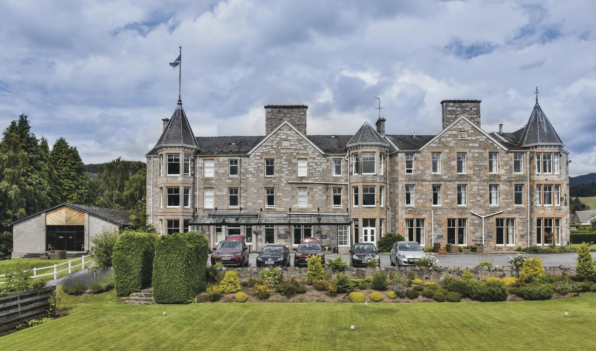 The Pitlochry Hydro Hotel.