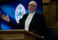 Rt Rev Dr Martin Fair at the special service in Edinburgh.