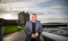 Alan Ross City Development Convener. Broughty Ferry Castle, Castle Approach, Broughty Ferry, Dundee. Friday 24th January 2020  Pic Credit - Steve MacDougall / DCT Media