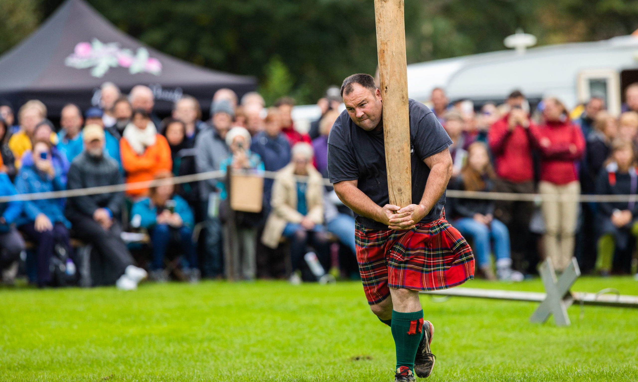Thousands attended the Pitlochry Highland Games last year.