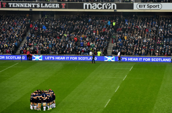 Scotland's rugby players have full counselling support while isolated during the lockdown.