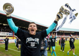 'Never say never': Title hero Kyle Letheren is open to a Dundee return