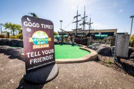 Adventure Golf Island.