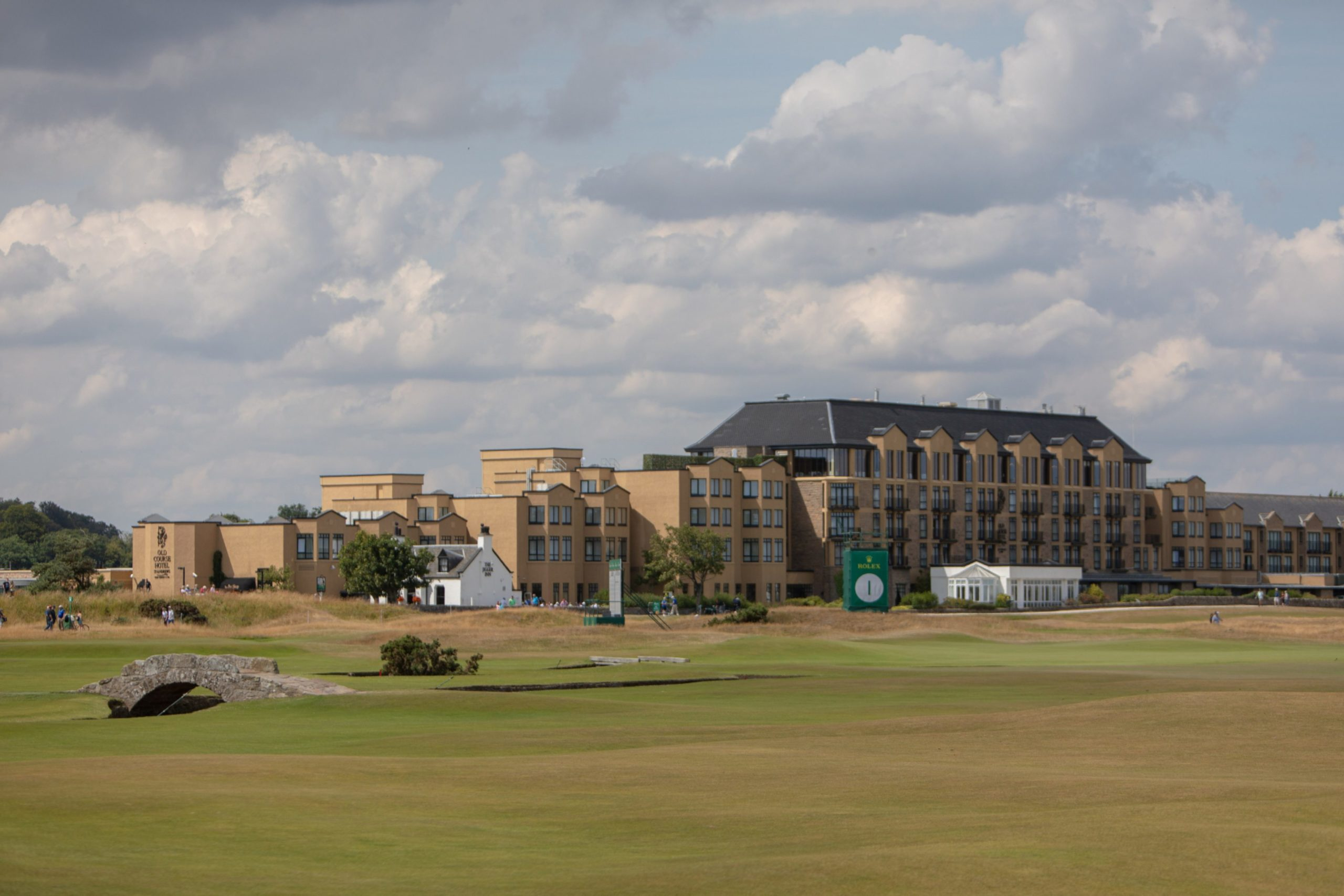The Old Course Hotel in St Andrews.