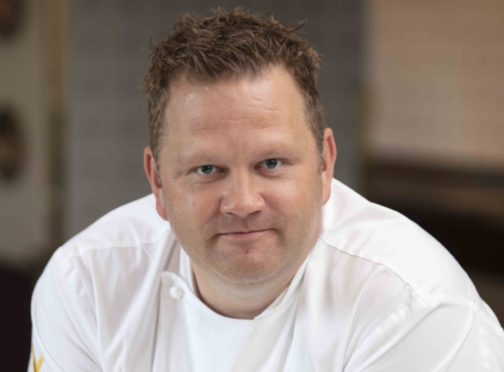 Simon Attridge, head chef at Gleneagles.