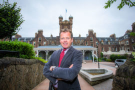 Stephen Leckie, Chief Executive of Crieff Hydro Hotel. Picture: Steve MacDougall.