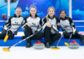 Team Muirhead (left to right) Vicky Wright, Jennifer Dodds, Lauren Gray and Eve Muirhead.