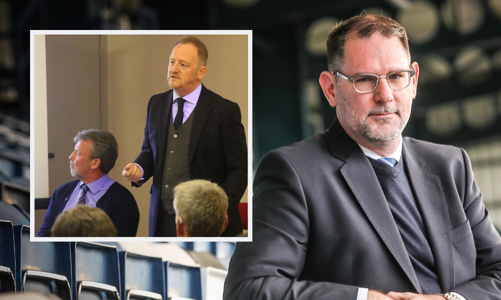 Dundee chief John Nelms was mentioned in Ross Morrison and Scot Gardiner's statement