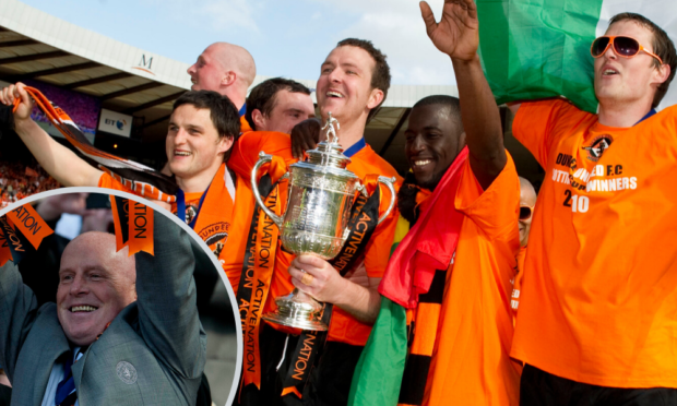 Friday marks tenth anniversary of Dundee United's Scottish Cup triumph