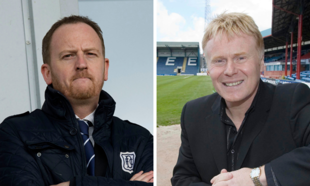 Former Dundee chief execs Scot Gardiner and Dave MacKinnon have different takes on 'null and void' claim