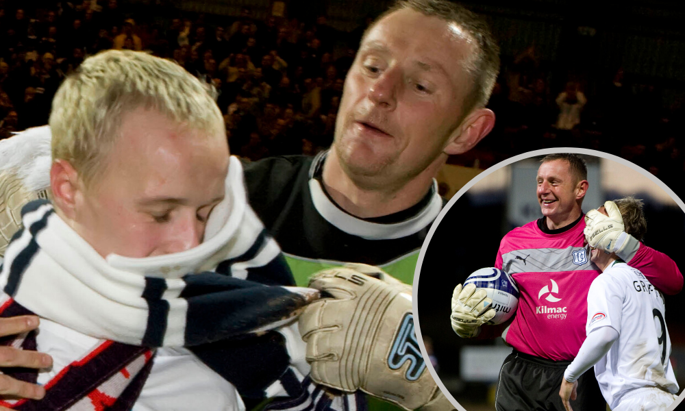 Rab Douglas has been delighted to see Leigh Griffiths shine since leaving Dens Park
